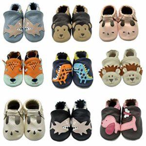 iEvolve Baby Leather prewalker Shoes
