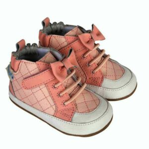 Robeez Girls High Top Sneakers Mini Shoez