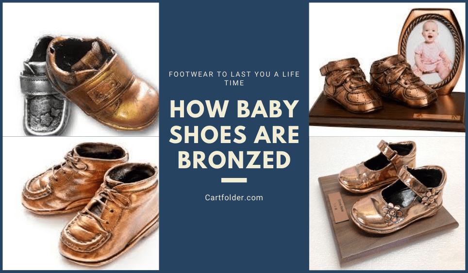 How Baby Shoes Are Bronzed