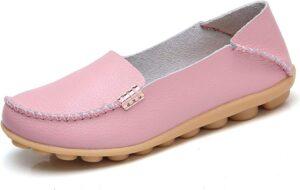 VenusCelia Women's Natural Comfort Walking Flat
