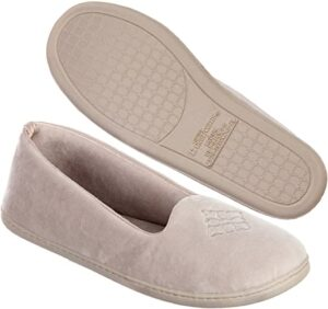Dearfoams Women's Rebecca Velour Slipper
