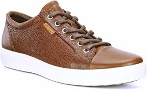 ECCO Men's Soft Men's Leather Sneaker