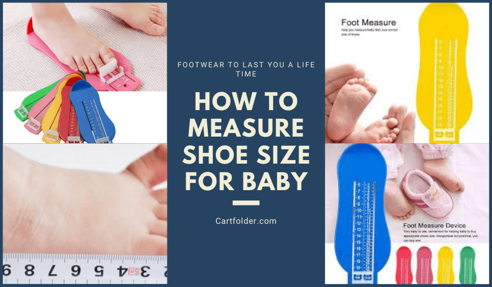 how to measure shoe size for baby