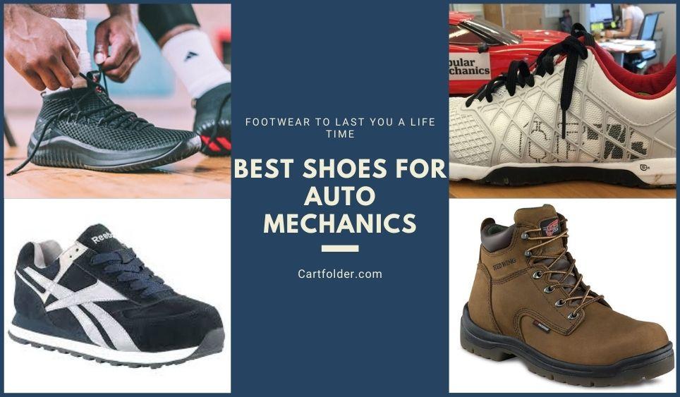 Best Shoes for Auto Mechanics