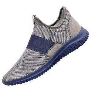 QANSI Men's Sneakers Athletic Running Walking Gym Shoes
