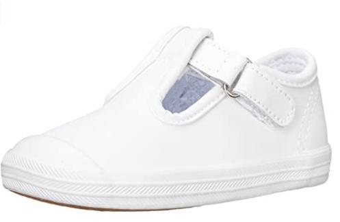 Keds Girls Champion Toe Cap T-Strap Sneaker