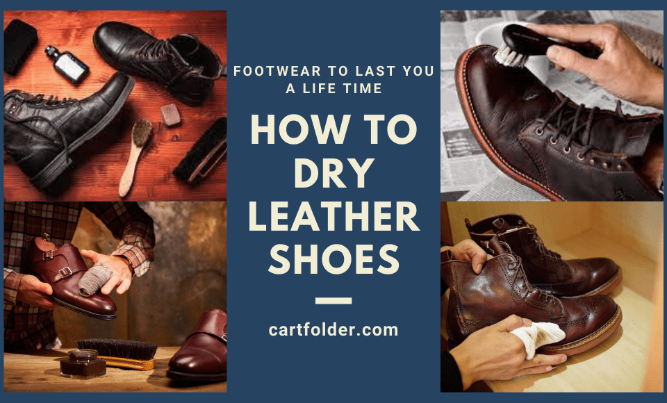 How to Dry Leather Shoes