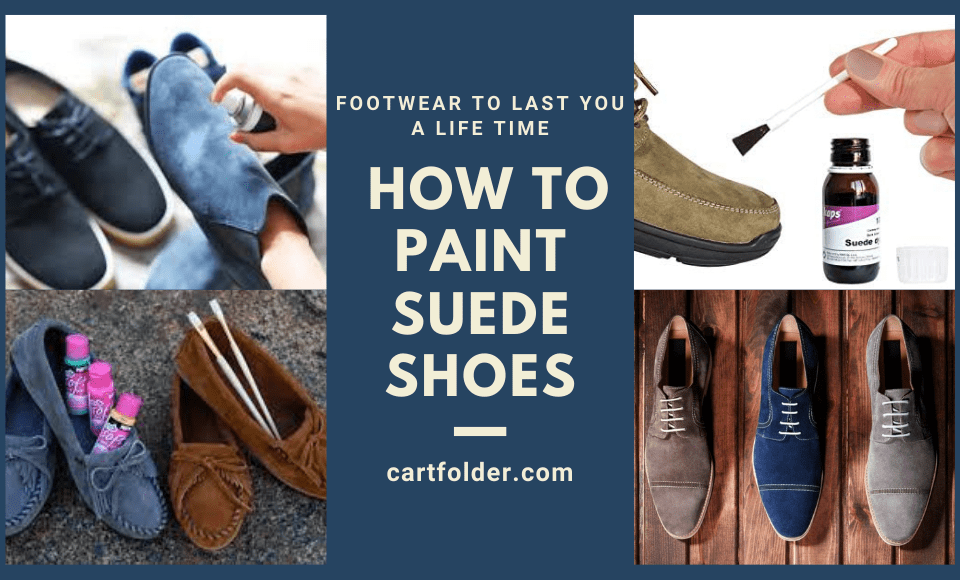 How to Paint Suede Shoes