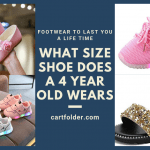 What Size Shoe Does a 4 Year Old Wears