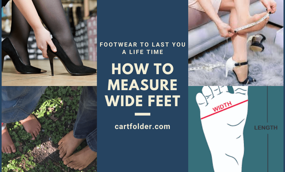 How to Measure Wide feet
