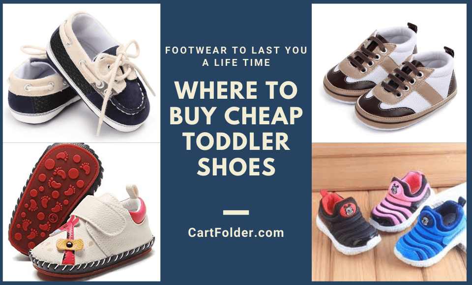 Where to Buy Cheap Toddler Shoes
