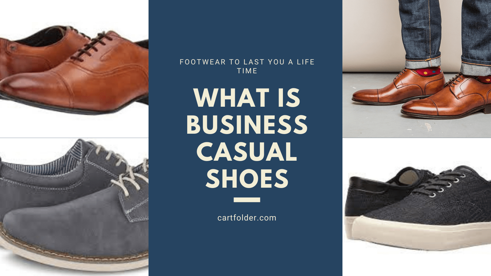 what is business casual shoes